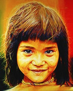 Penan Girl from Bario